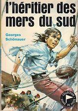 L'HERITIER DES MERS DU  SUD  SIGNE DE PISTE 200 (ILLUSTRATIONS JOUBERT) 1970 TBE