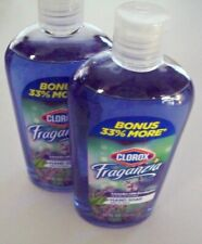 CLOROX  FRAGANZIA HAND SOAP  LAVENDER WITH EUCALYPTUS 10FL.OZ  295ML  2 PK NEW