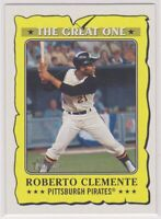 2021  Topps Heritage Baseball ROBERTO CLEMENTE The Great One Card # 6 - PIRATES