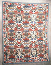 Rug carpet antique European Europe Portuguese Portugal Arraiolos 1950