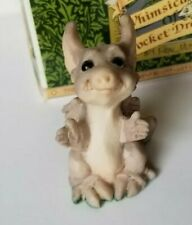 """""""Pick Me Up"""" Whimsical World of Pocket Dragons by Real Musgrave with Box"""