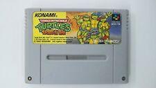 TMNT TURTLES IN TIME      Nintendo Super Famicom Japanese SFC SNES Japan USED