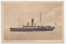 AK Gruss vom Dampfer Adler Seebäderdienst der Hamburg Amerika Linie 1922