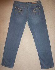 SEVEN7 Premium Distressed Demin Straight Leg Jeans Stretch Size 10