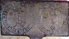 Ancien Gaufrier à Hosties  XVIII ème  Ésotérisme Religion Christianisme