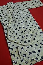 CJ12/230 Vintage Japanese Kimono Cotton Antique Boro Kid's NORAGI Indigo Blue