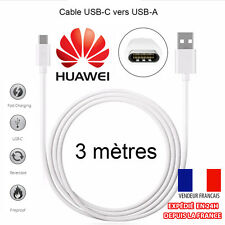 3M CABLE USB-C (TYPE C) 3.1 SYNC CHARGEUR VERS USB POUR HUAWEI HONOR 8