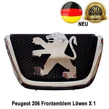 Peugeot 206 Grill Kühlergrill Emblem Logo Chrom Kombi Löwen-Logo 7810K8 Neu