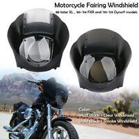 Pare-brise déflecteur carénage de phare Pour Harley Sportster XL883 1200 88-Up