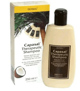 Therapeutic Dermal Shampoo With Coal Tar For Treatment of Dry Scaly Scalp 250ml