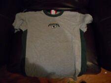 Green Bay Packers grey crewshirt youth sz L (14-16)