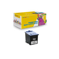 1 Pack Compatible CC635A Black Inkjet Cartridge for HP 701 Fax 640 2140