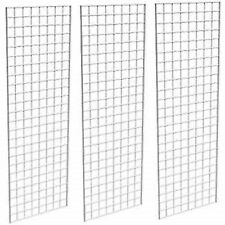 CLEARANCE!!! Only Hangers Commercial Grid Panels, 2' x 6' White (Pack of 3)