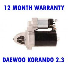 DAEWOO KORANDO 2.3 1999-2015 RMFD STARTER MOTOR 12 MONTH WARRANTY