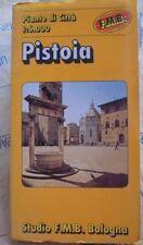 PISTOIA 1: 6.000 - PIANTE DI CITTA' - STUDIO F.M.B. BOLOGNA