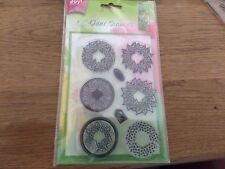 1 clear stamp rounds / 4,5 cm round/ joy crafts/ (stamp102) new