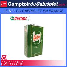 Huile minérale Castrol 20W50 - 5L bidon vintage