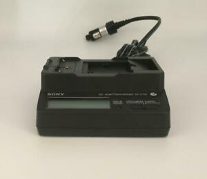 Sony DC-V700 12/24v Quick Car Charger for L Series / F100 Series Batteries - VGC