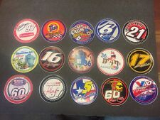 Vintage NASCAR Sticker Lot Of 15