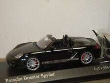 Porsche Boxster Spyder 2010 - Minichamps 1:43 in Box *37441