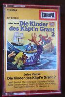 Die Kinder des Käpt´n Grant Folge 02 – Europa Hörspiel MC Kassette