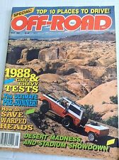 Off-Road Magazine GMC & Chevy Tests May 1987 032317NONRH