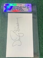 DARRYL STRAWBERRY #80 PSA/DNA AUTHENTIC AUTOGRAPH INDEX CARD EARLY FULL SIG