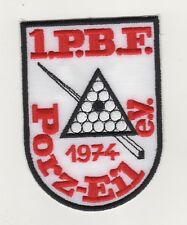 Fabric Patches Patches Pbf Porz-Eil E. v.Snooker Sports Club Cologne