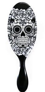Wet Brush Skull Rose Edition White Rose