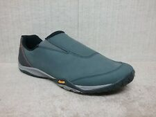 MERRELL - PARKWAY - Men's Shoes / Casual Slip On MOCCASINS - BLUE - Size 10