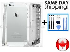 iPhone 5 Silver White Complete Housing Back Battery Door Cover Frame Assembly