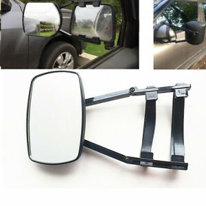 Clip-On Truck SUV  RV Trailer Towing Side Mirror Extender Extension Adjustable