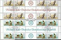 DDR 3265Hz-3266Hz Herzstücke (kompl.Ausg.) gestempelt 1989 Nationale Briefmarken