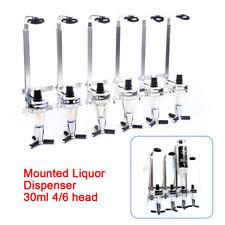 4/6-Bottle Head Liquor Wine Dispenser Beverage Bar Alcohol Cocktail Beer 30ml