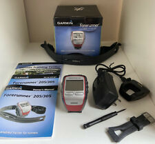 Garmin Forerunner 305 GPS Enabled Trainer w/Heart Rate Monitor Bundle 8577Tested