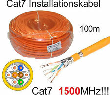100m Draka Installationskabel UC1500, CAT7/8, 1500MHz, Netzwerkkabel, Datenkabel