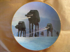 Imperial Walkers on the Ice Planet of Hoth - Star Wars Plate Hamilton  #2407U