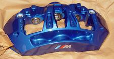 BMW Brand F10 M5 F12 F13 M6 Blue Brembo Front Brake Kit Pads Calipers Rotors New