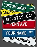 """Ghostbusters Aluminum Street Sign  6/"""" x 24/"""""""