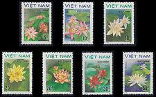 VIETNAM N°847E/847L** FLEURS AQUATIQUES, 1987-1988 Vietnam Water Lilies MNH