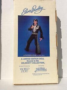 "NIB Vintage 1984 World Doll ""Phoenix"" Elvis Presley Doll (21"" Vinyl Doll)"