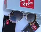Ray-Ban RB 3025 001/51 58mm Aviator Sunglasses Arista Brown Gradient Lens Unisex