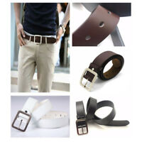 Men's Casual New Men's Leather Belt Pin Belts Waistband Buckle Waist Strap