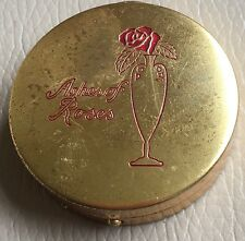 Vintage Retro Mid Century Bourjois Compact Ashes Roses Rouge Puff Paper Advert