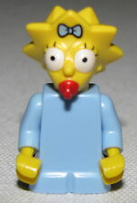 Lego New Maggie Simpson Minifigure with Blue Shirt from Set 71006