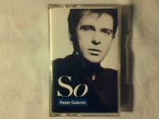 PETER GABRIEL So mc cassette k7 ITALY MAI SUONATA UNPLAYED!!!