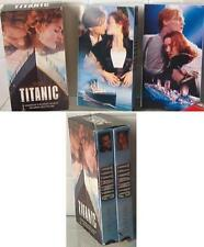 TITANIC 2 Tape Set : Leo Dicaprio VHS Movie ISBN 0792151712 SEALED NEW