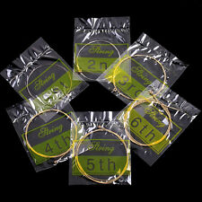 New Set of 6 Bronze Wooden Steel Strings for Acoustic Guitar HOT in USA