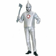 The Wizard of Oz Tinman Mens Adult Halloween Fancy Dress Costume Party One-size