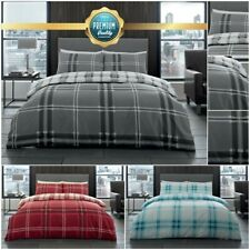 Bardsley Check Duvet Cover Set with Pillow Cases in All Sizes by Gaveno Cavailia